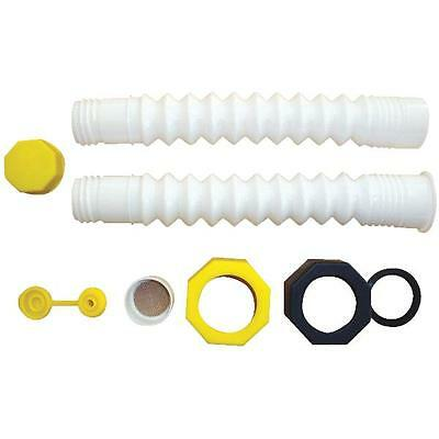 EZ Pour Replacement Hi-Flo Spout Replace Old Can Fill Kit Water Jug