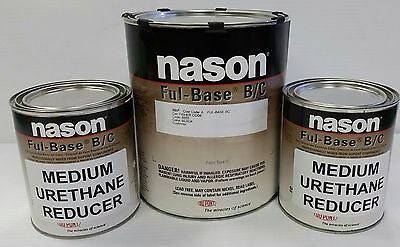 Super jet black Dupont/Nason ful base clearcoat auto body shop restoration paint