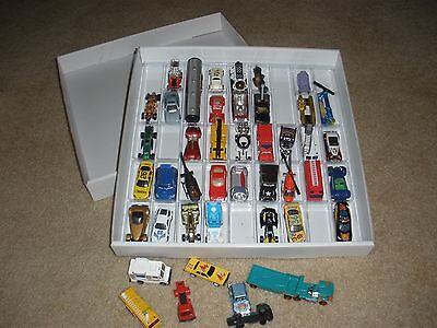 1 Of 3 FIVE PACK: Matchbox/Hot Wheels Sturdy Plastic Storage Trays