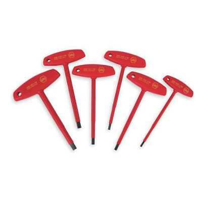 WIHA TOOLS 33490 Insulated Hex Key Set, 5/32 - 3/8 In.