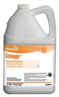 DIVERSEY 903904 Neutral Floor Cleaner, 1 gal., Citrus