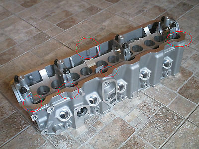 NEW Cylinder Head VW TRANSPORTER 2,4 D / 2,4 D Syncro (1990-1998)