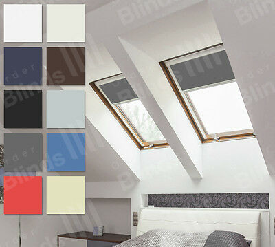 Fakro Skylight Blinds For Loft Windows - Simple Fit Blackout Roof Blinds