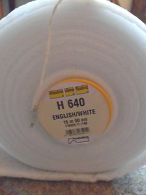 Vilene Fusible Wadding H640 90cm wide-quilting-interlining-interfacing by 1/4 m
