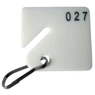 GGS_31373 Key Tag Numbered 1 to 40, Square, PK 40