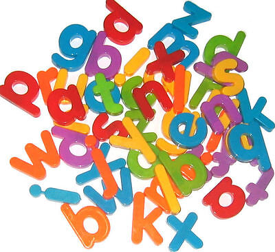 Plastic Magnetic Lower Case Alphabet Letters (Pack of 52)