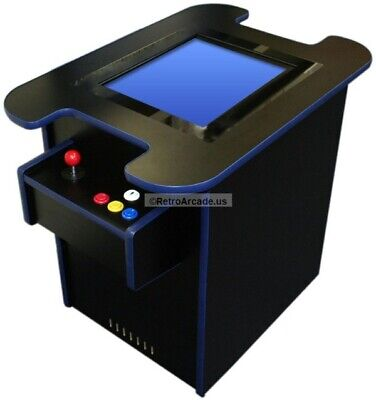 Cocktail Arcade game cabinet kit, Jamma and MAME Ready, LCD Monitor Ready, NEW