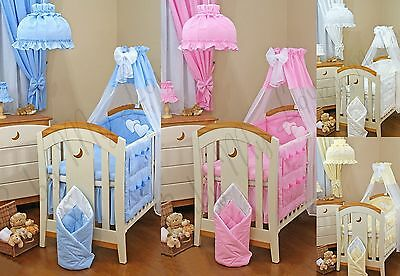 Lovely  Baby Cot/cot Bed Canopy Drape +Canopy Holder / Rod