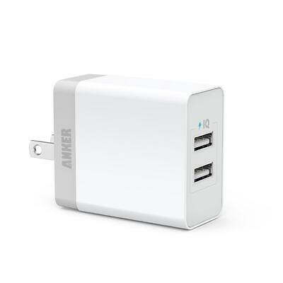 Anker® 20W Dual-Port PowerIQ™ USB Wall Charger for iPhone 6 Plus 5S 5, Galaxy S5