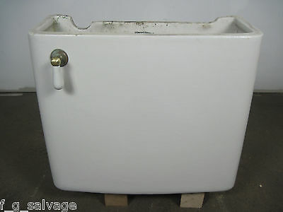 Antique Vintage JL Mott Toilet Tank Early 1900's NO LID Antique Low Tank