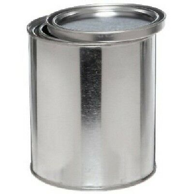 Empty Pint Can Round Steel Can with Lid for Paint Materials