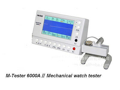 M-Tester 6000AⅡMechanical watch tester Watch Timing Machine Timegrapher Coaxial