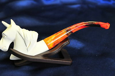 Meerschaum Unicorn Blonde Stem - New