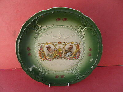 Antique Royal Commemorative 1911 Coronation Plate