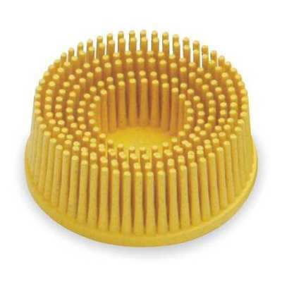 3M 18732 Tapered Bristle Disc, 2 In Dia, 80G