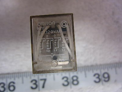 Omron MY4N 14-Pin 110V Coil Relay, Used