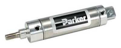 PARKER 1.06DPSR04.0 Air Cylinder, 8.6 In. L, Stainless Steel