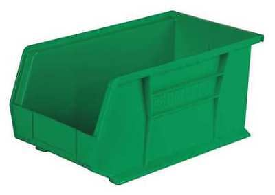 "Green Hang and Stack Bin, 14-3/4""L x 8-1/4""W x 7""H AKRO-MILS 30240GREEN"
