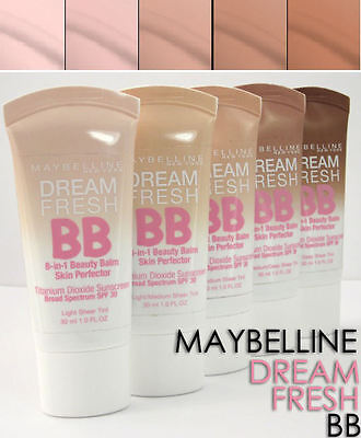 Maybelline Dream Fresh Bb Cream Brand New & Sealed Please Select Shade From Menu