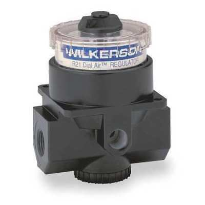 WILKERSON R21-02-000 Air Regulator, 1/4 In NPT, 117 cfm, 300 psi