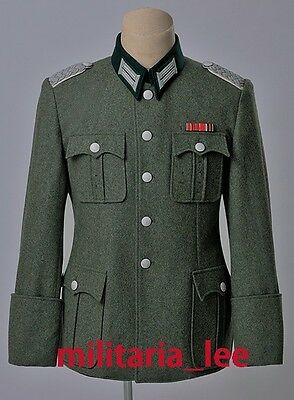 WW2 Rerpo German Officer M36 Wool Combat Tunic All Sizes