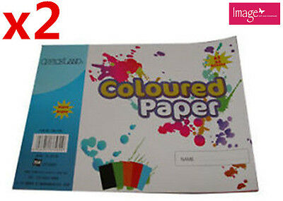 2pcs A3 Coloured Paper 80gsm 30 Sheets Assorted Colour TOM-F480x2