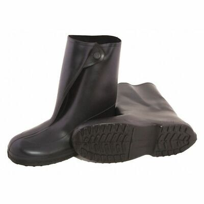 Size L Overboots, Men's, Black, Plain Toe, Tingley