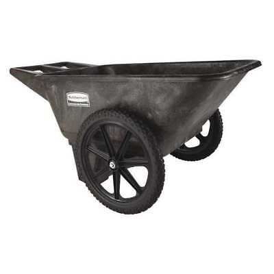 Big Wheel Cart,HD,1/4 cu. yd.,300 lb.