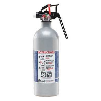 Fire Extinguisher, 2 lb. Capacity, Dry Chemical, 21006642N, Kidde