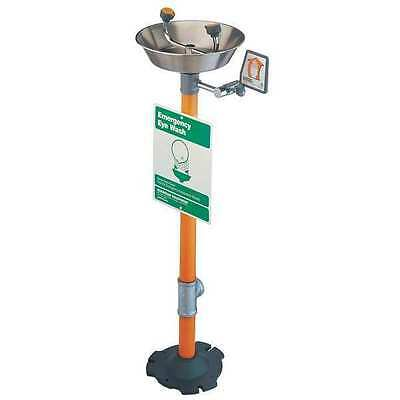 GUARDIAN G1825 Eyewash Station, Pedestal Mount, SS, 16 W