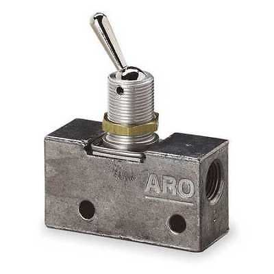 ARO 223-C Manual Air Control Valve, 3-Way, 1/8in NPT