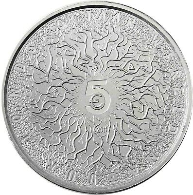 Niederlande 5 Euro 2011 bfr. 50 Jahre WNF, WORLD WIDE FUND FOR NATURE