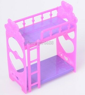 Cute Play House Accessories Small Kelly Cute  Double Bed Furniture