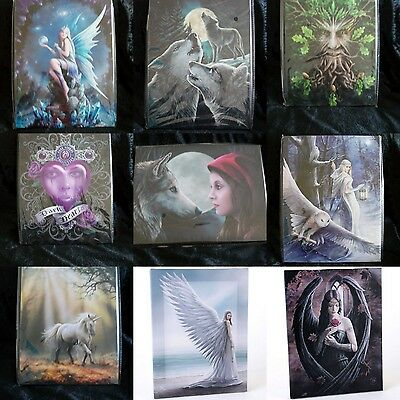 Fantasy Canvas Wall Plaque by Anne Stokes or Lisa Parker