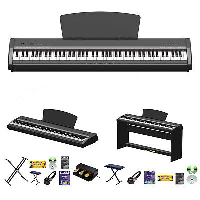 Chase P-50 Digital Electric Portable Piano With Hammer Action Weighted Keyboard
