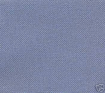 Fat Quarter 28 Count Denim Blue Evenweave Cross Stitch Fabric - 50cm x 55cm