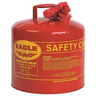 EAGLE UI50S 5 gal. Red Galvanized steel Type I Safety Can for Flammables