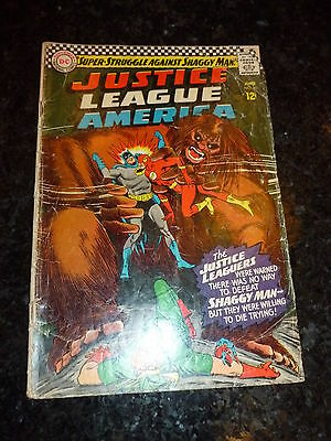 JUSTICE LEAGUE OF AMERICA Comic - No 45 - Date 06/1966 - DC / National Comics