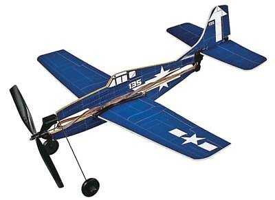 NEW Gayla F6F-5 Hellcat Rubber Band Powered Airplane 736