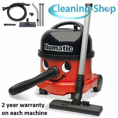 Henry Vacuum Cleaner GENUINE BRAND NEW Numatic NRV200 YELLOW 2017 Commercial