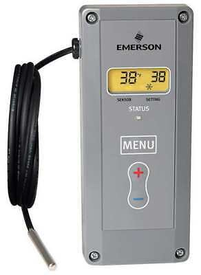 Emerson Line Voltage Thermostat, 24 to 240VAC, 1 Stage, 16E09-101
