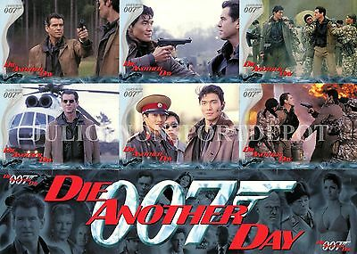 James Bond Die Another Day Movie 2002 Rittenhouse Archives Base Card Set Of 90