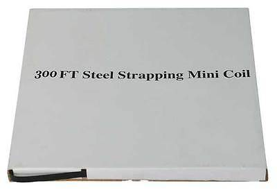 4WXT5 Steel Strapping, 3/4 In, L 300 Ft
