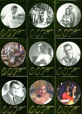 James Bond 50Th Anniversary Series 1 2012 Rittenhouse Base Card Set Of 99 Movie