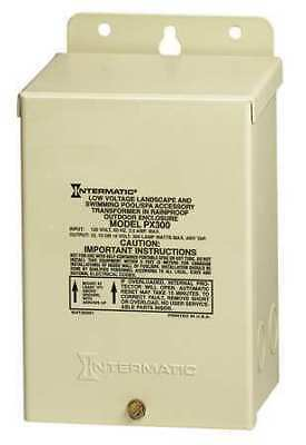 INTERMATIC PX300 Transformer, 1 Phase, 300VA, 12V Out