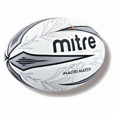 Mitre MAORI Rugby Ball Size 5 Match Quality Club/School Use Official