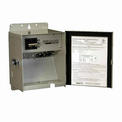 Reliance Controls 20-Amp (240V 1-Circuit) Outdoor Transfer Switch