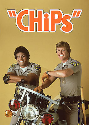Chips - A1/A2 Poster **BUY ANY 2 AND GET 1 FREE OFFER**