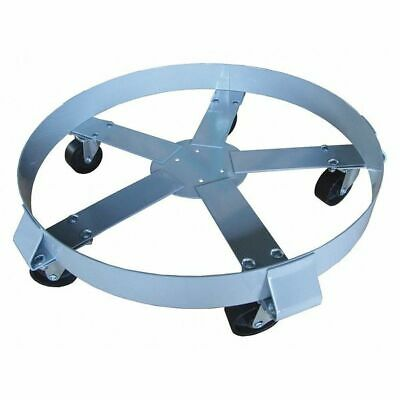 Drum Dolly,1400 lb.,6-1/2 In H,55 gal.