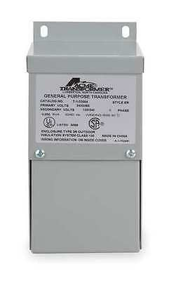 ACME ELECTRIC T253014S Transformer, 1 Phase, 5kVA, 120/240V Out